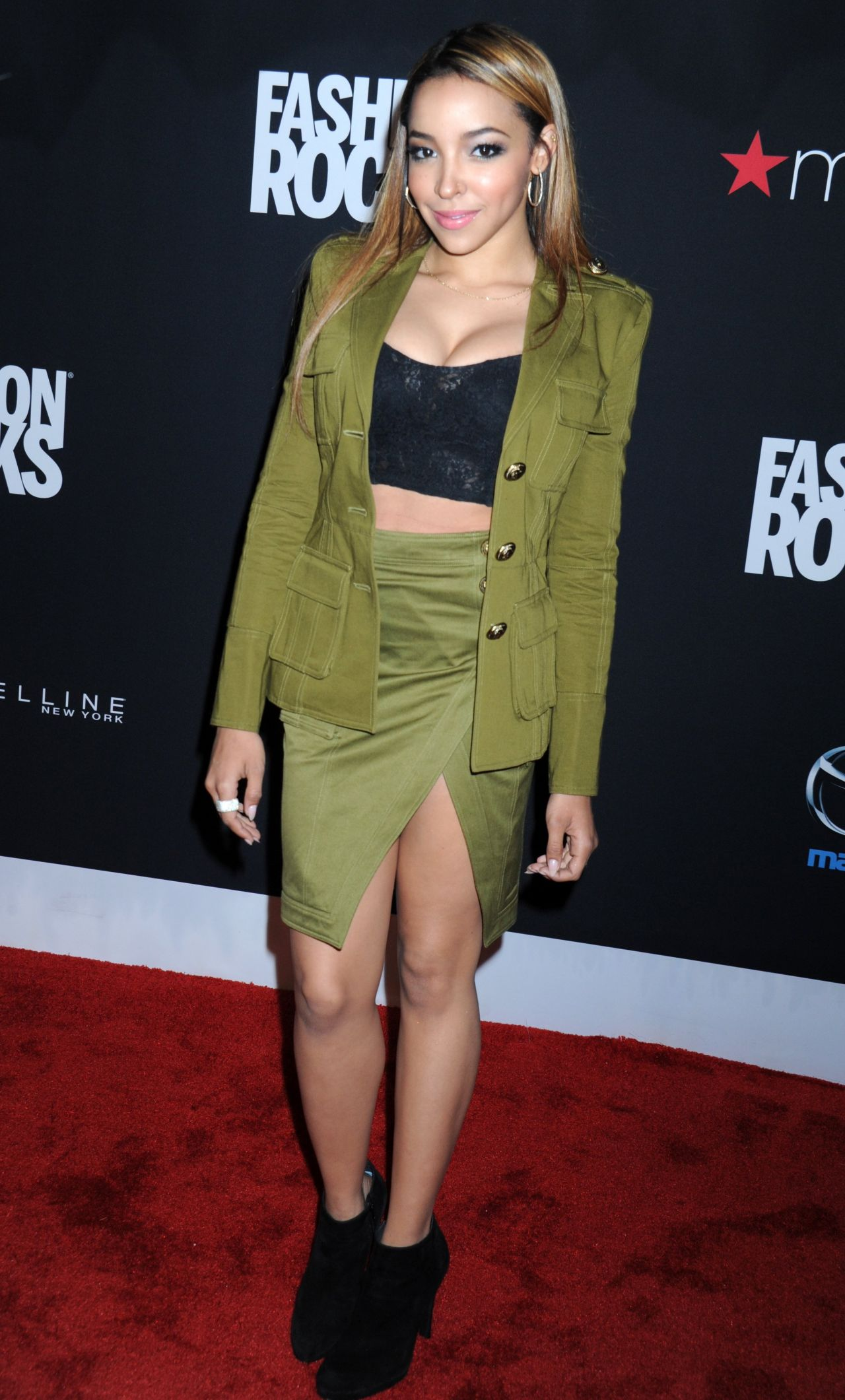 Tinashe - Fashion Rocks 2014 in New York City