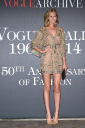 Toni Garrn - Vogue Magazine Italia 50th Anniversary at Piazza Castello in Milan