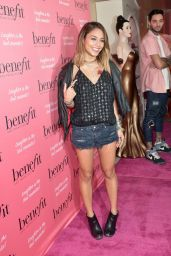 Vanessa Hudgens – Benefit Cosmetics Kick-Off National Wing Women Weekend in Los Angeles – Sept. 2014