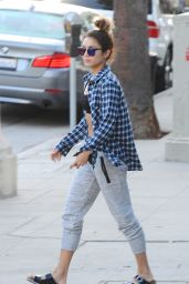 Vanessa Hudgens - Out in Studio City - September 2014