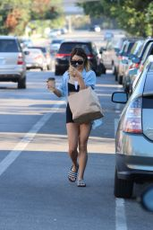 Vanessa Hudgens Street Style - Out in Los Angeles, September 2014