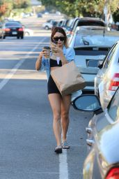 Vanessa Hudgens Street Style - Out in Los Angeles - September 2014