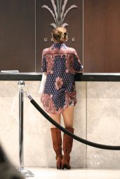 Vanessa Hudgens Style - at The Grove in West Hollywood - September 2014