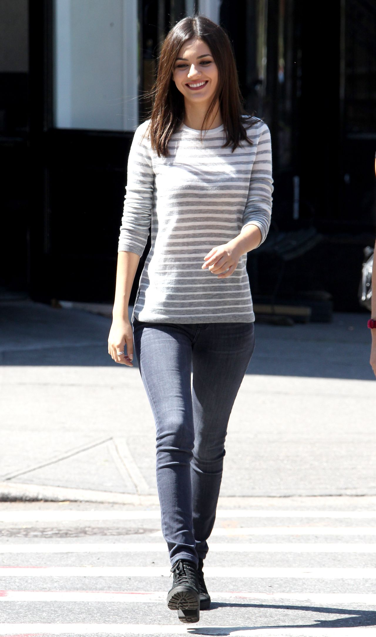 Victoria Justice – 'Eye Candy' Set Photos , Brooklyn September 2014