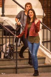 Victoria Justice - Filming