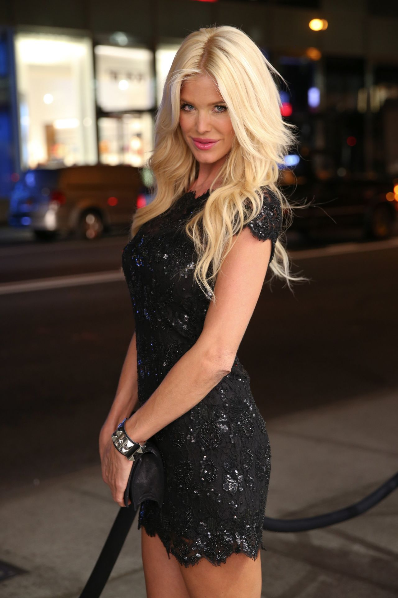 Victoria Silvstedt - PHILIPP PLEIN Cocktail Party in New ...