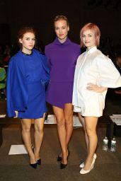 Yvonne Strahovski - ICB Fashion Show in New York City – Sep 2014