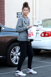 Zendaya Coleman at Dancing With The Stars Rehearsal in Los Angeles – September 2014