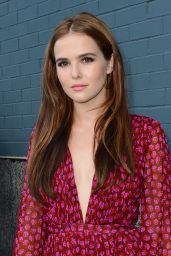 Zoey Deutch - Diane Von Furstenberg Spring 2015 Runway Show in New York City