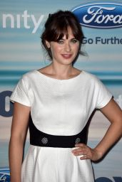 Zooey Deschanel - 2014 FOX Fall Eco-Casino Party in Santa Monica
