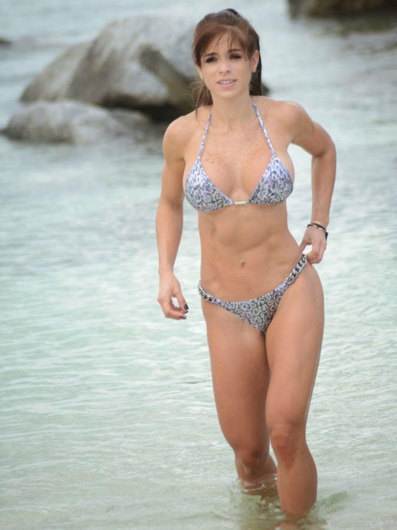 Michelle Lewin Bikini Photos Miami Beach October 2014