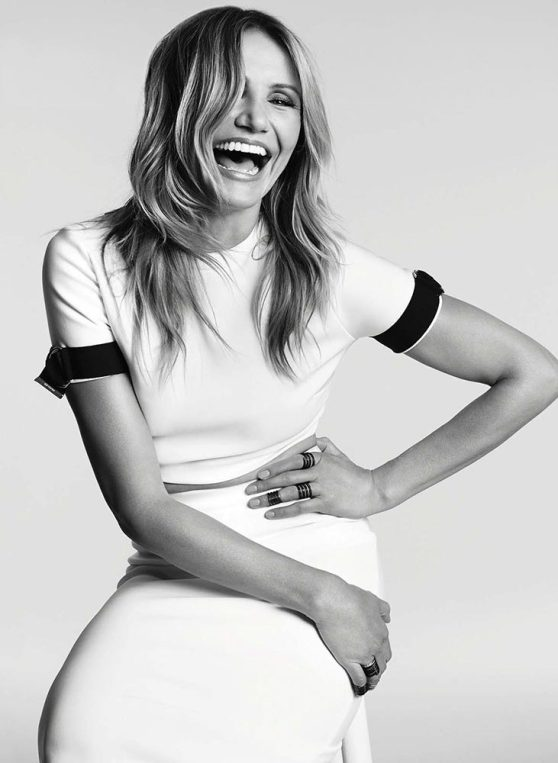 Cameron Diaz - Photoshoot for Marie Claire Magazine (USA) November 2014