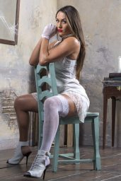 Nicole Garcia (Nikki Bella) Photoshot – House of Haunted Divas