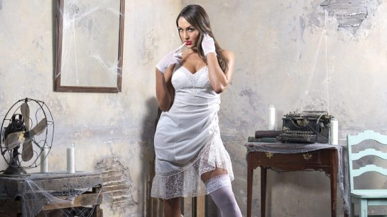 Nicole Garcia (Nikki Bella) Photoshot – House of Haunted Divas