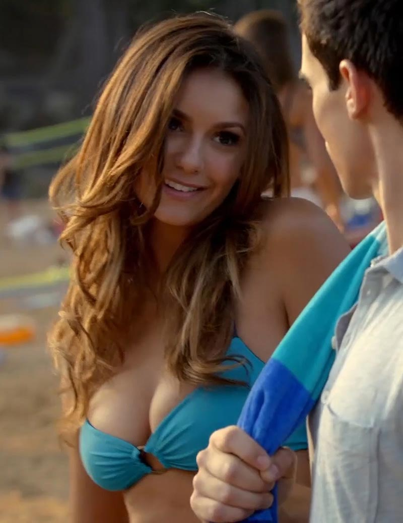 Nina Dobrev In A Bikini The Vampire Diaries Photos