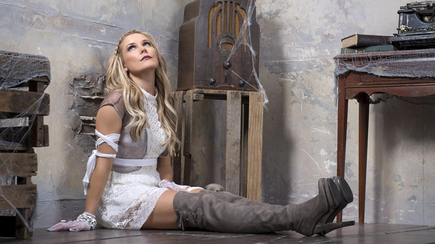 Renee Young Photoshot House Of Haunted Divas