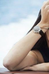 Adriana Lima & Karolina Kurkova - Photoshoot for IWC Watches 2014 Campaign