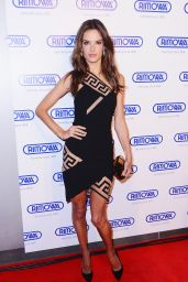 Alessandra Ambrosio - Rimowa Grand Opening in New York City - October 2014