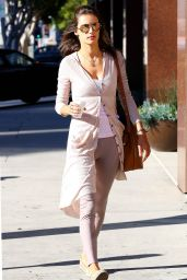 Alessandra Ambrosio Street Style Autumn 2014 - Out in Santa Monica