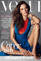 Alessandra Ambrosio - Vogue Magazine (Spain) - November 2014 Cover