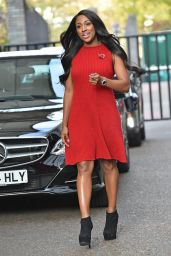 Alexandra Burke - Outside the London Studios - October 2014
