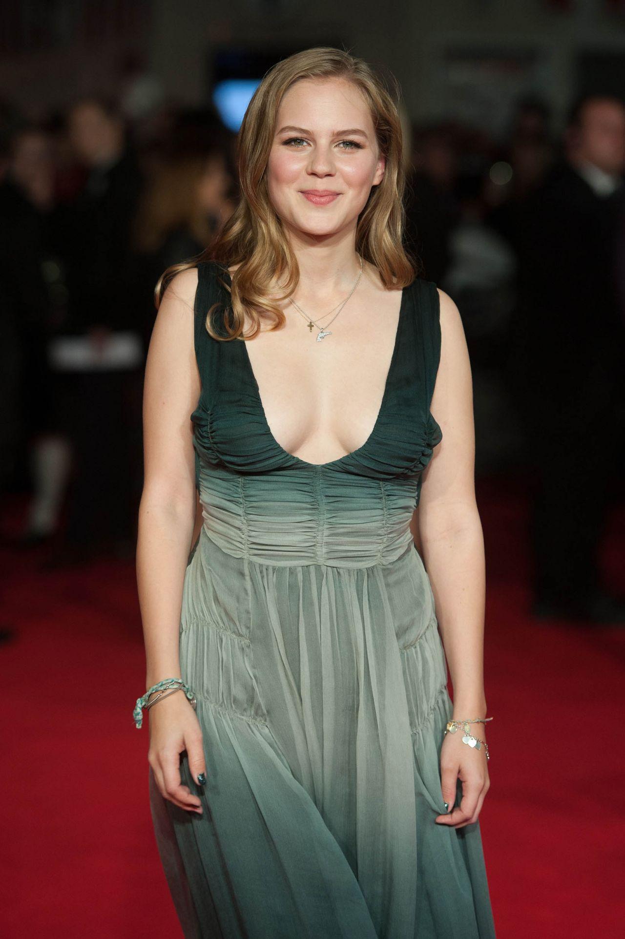 Alicia von Rittberg - 'Fury' Premiere in London • CelebMafia