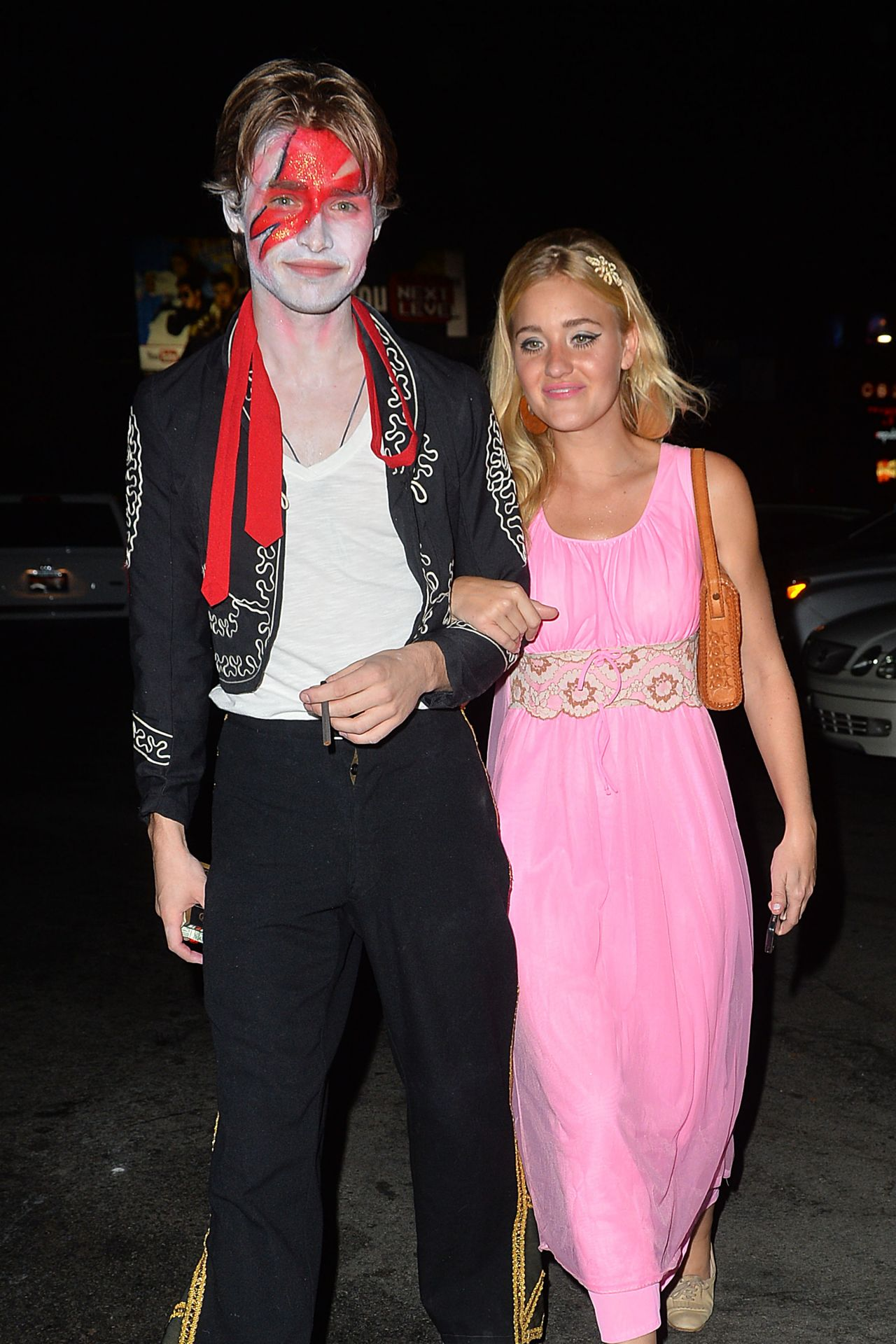 and AJ Michalka – Matthew Morrison's Halloween 2014 Party in West ...