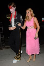 Aly and AJ Michalka – Matthew Morrison's Halloween 2014 Party in West Hollywood