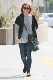 Alyson Hannigan - Out in Los Angeles, October 2014