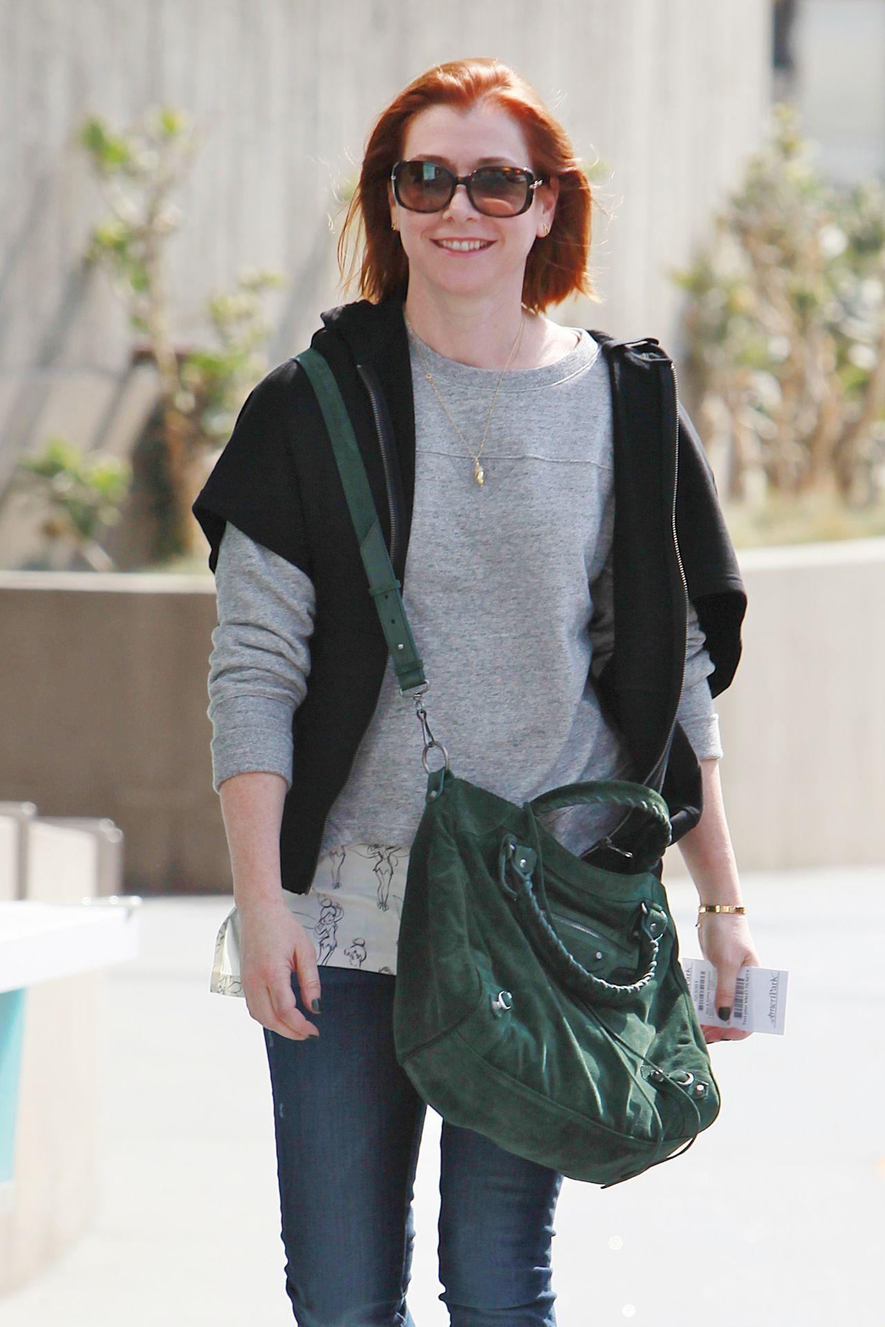 Alyson Hannigan Out In Los Angeles October 2014