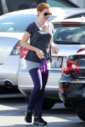 Alyson Hannigan - Out in Santa Monica - October 2014