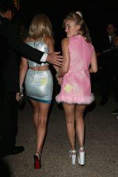 Amanda AJ Michalka & Alyson Aly Michalka - Dressed as Romy & Michele at a Halloween 2014 Party