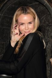 Amanda Holden at Warner Bros. Studio Tour - London, October 2014