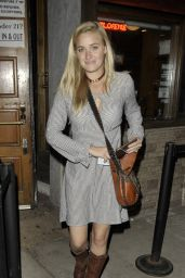 Amanda Michalka - Leaving the Troubadour in West Hollywood - October 2014