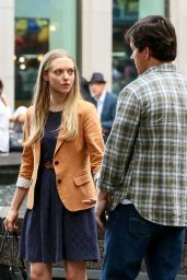 Amanda Seyfried Filming
