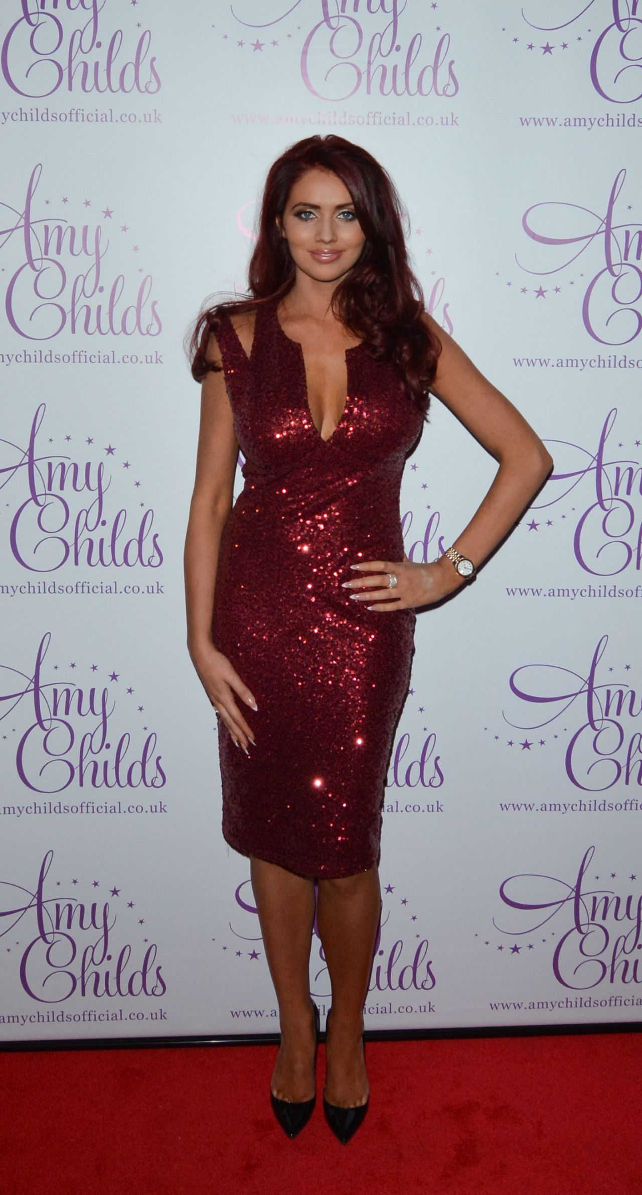 Amy Childs Amy Childs Clothing 2014 Party In London