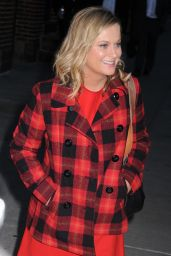 Amy Poehler -  Arriving to Appear on