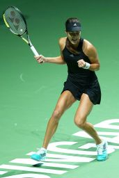 Ana Ivanovic – 2014 WTA Finals in Singapore (vs Eugenie Bouchard)