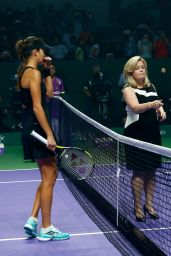Ana Ivanovic – 2014 WTA Finals in Singapore (vs Serena Williams)