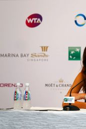 Ana Ivanovic – BNP Paribas WTA Finals 2014 Singapore Press Conference