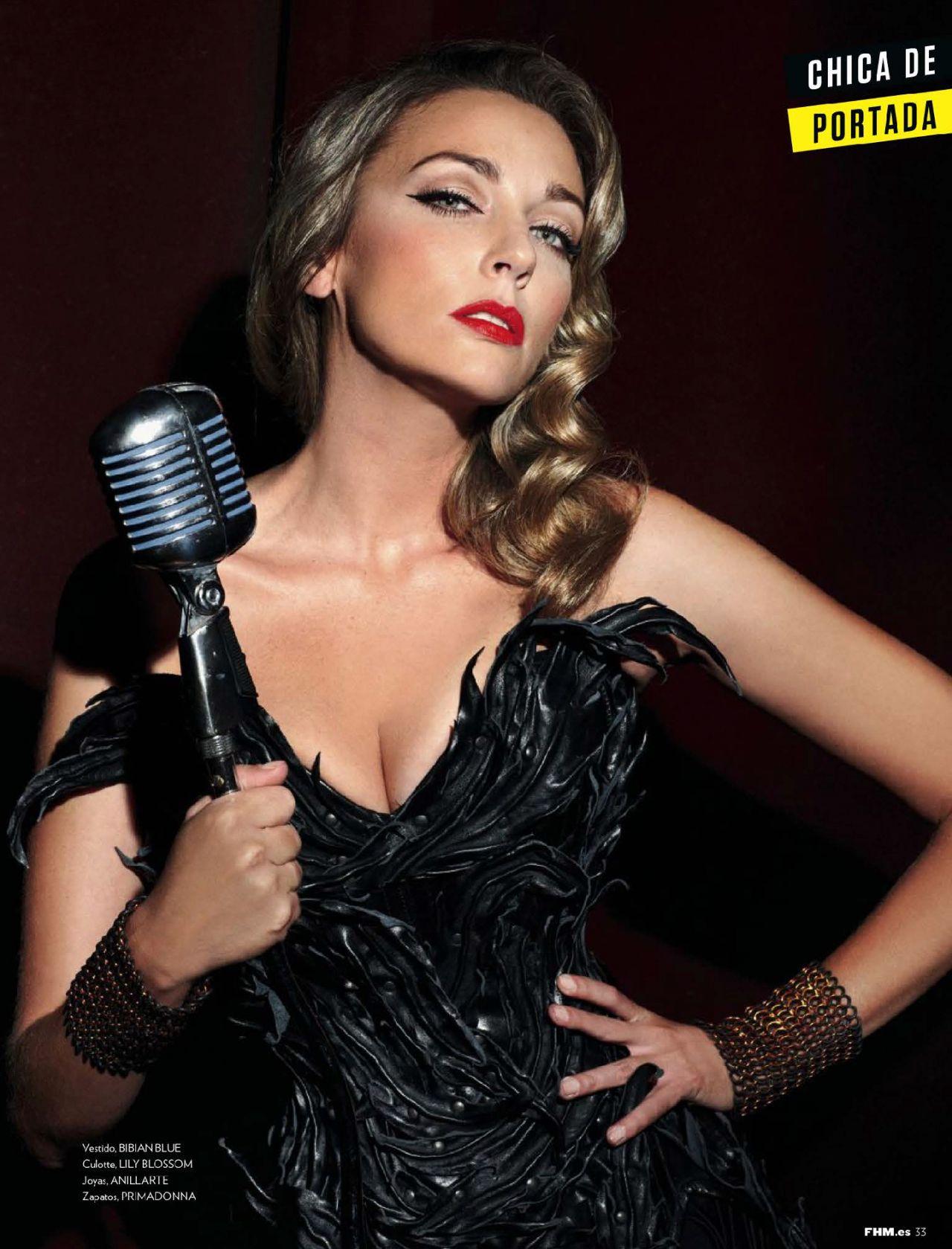 Anna Simon - FHM Magazine (Spain) - October 2014 Issue