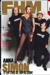 Anna Simon - FHM Magazine (Spain) - October 2014 Issue