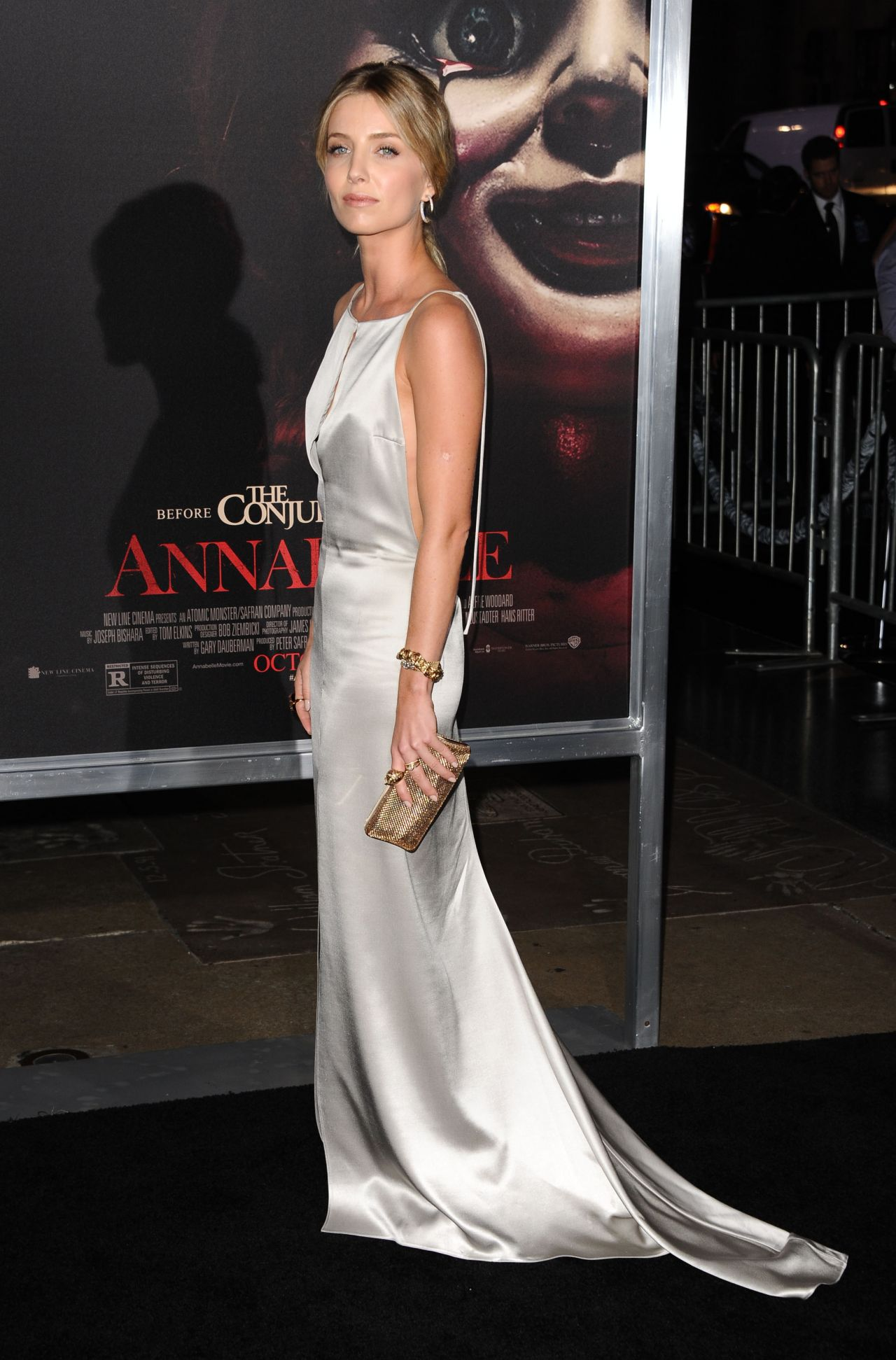 Annabelle Wallis Annabelle Screening In Hollywood