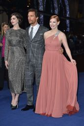 Anne Hathaway – 'Interstellar' Premiere at the Odeon Leicester Square in London