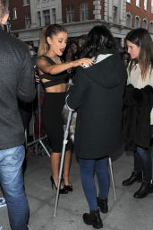 Ariana Grande at BBC Radio 1 Studios in London - October 2014