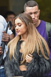 Ariana Grande - Outside the London Studios, October 2014