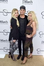 Ashlee Simpson - Jessica Simpson Collection Event at Dillard
