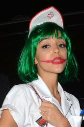 Ashley Madekwe - Leaving a Halloween 2014 Party at Hyde Night Club in West Hollywood