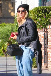 Ashley Tisdale Street Style - Out in West Hollywood - Oct. 2014