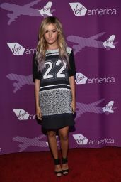 Ashley Tisdale – Virgin America Dallas Love Field Launch Celebration in Dallas – Oct. 2014